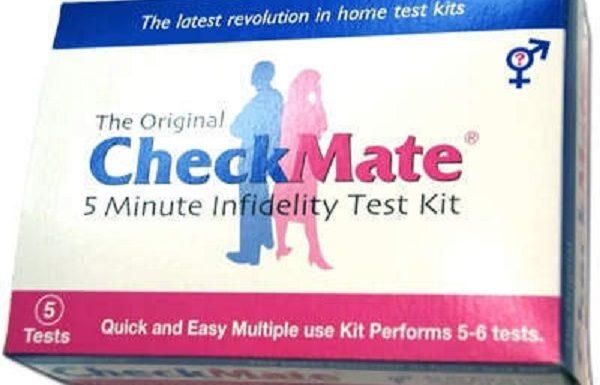 checkmate, el kit detector de semen